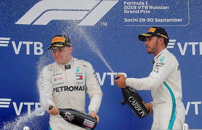 "Хэмилтон выиграл Гран-при России ""Формулы-1"""