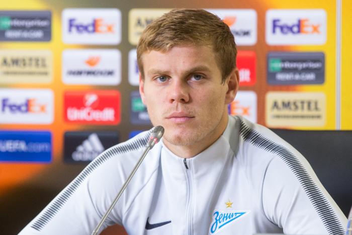"""""""Зенит"""" примет решение о наказании Кокорина после расследования"""