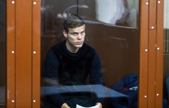 Суд арестовал футболиста Кокорина