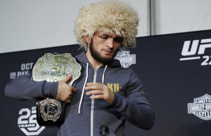 Хабиб Нурмагомедов вызвал на бой американского боксера Флойда Мейвезера