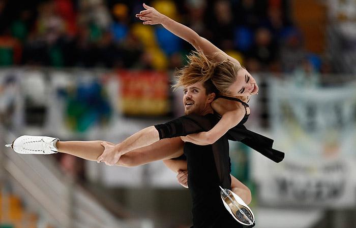 Российские фигуристы Степанова и Букин установили рекорд мира
