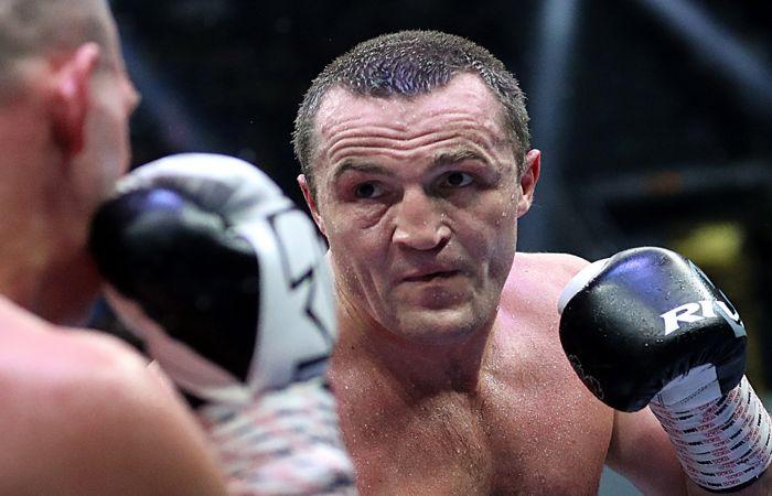 Денис Лебедев победил Майка Уилсона