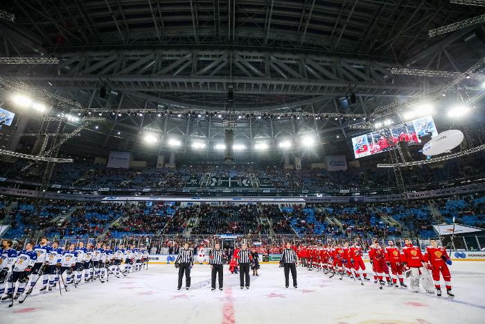 Хоккей. Хоккей, Кубок Первого канала, Российская Федерация - Финляндия, прямая текстовая онлайн трансляция