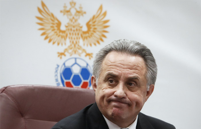 Мутко покинул пост президента РФС