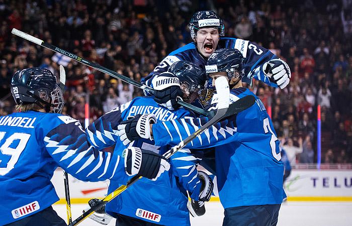 Финляндия победила США в финале молодежного ЧМ по хоккею