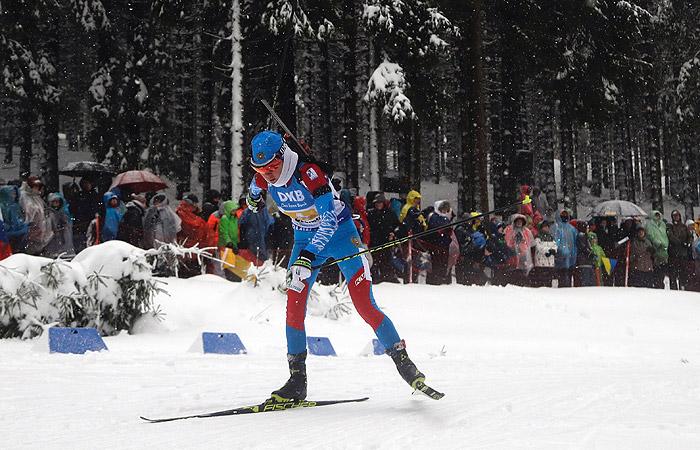 Сборная России выиграла женскую эстафету на этапе Кубка мира по биатлону