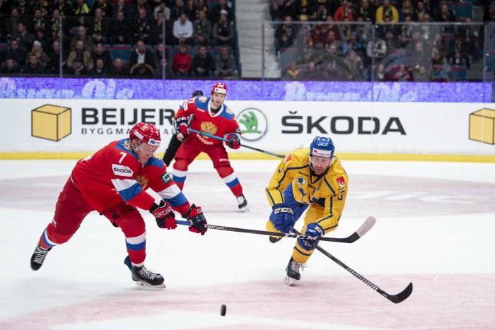 Сборная России проиграла Швеции в матче третьего этапа Еврохоккейтура
