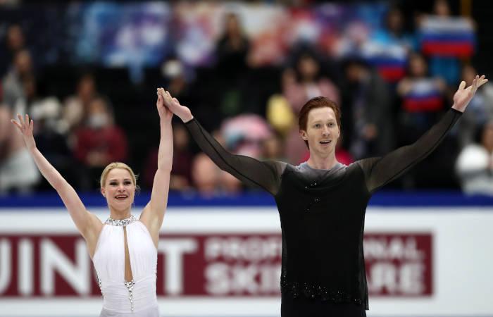 Российские фигуристы Тарасова и Морозов завоевали серебро ЧМ