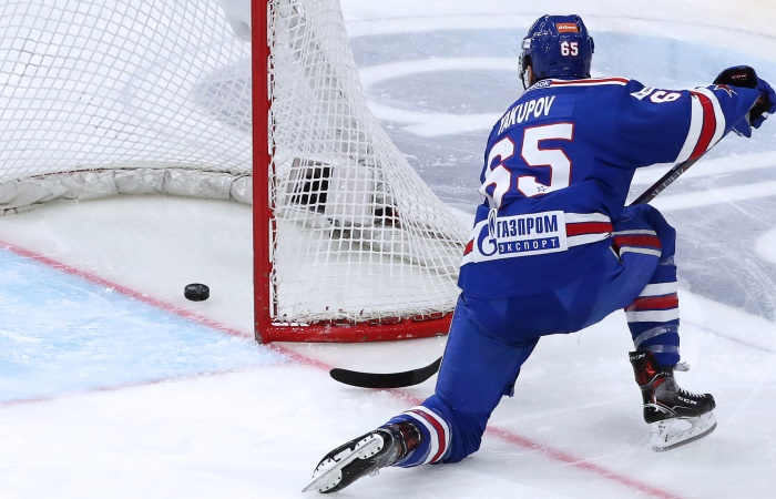 СКА победил ЦСКА и сравнял счет в полуфинальной серии плей-офф