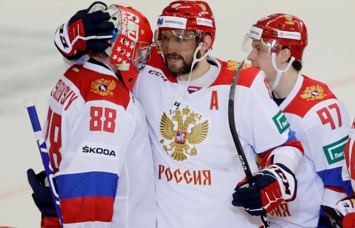 ЧМ по хоккею. Россия - Норвегия