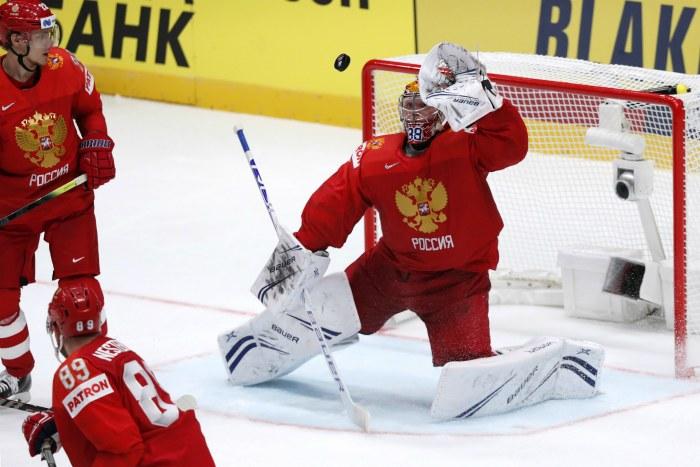 Россия победила Норвегию в стартовом матче ЧМ по хоккею