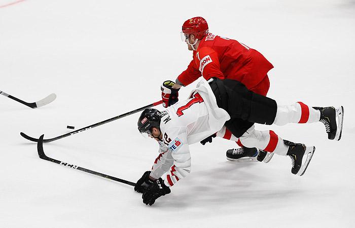 Россия разгромила Австрию на ЧМ по хоккею