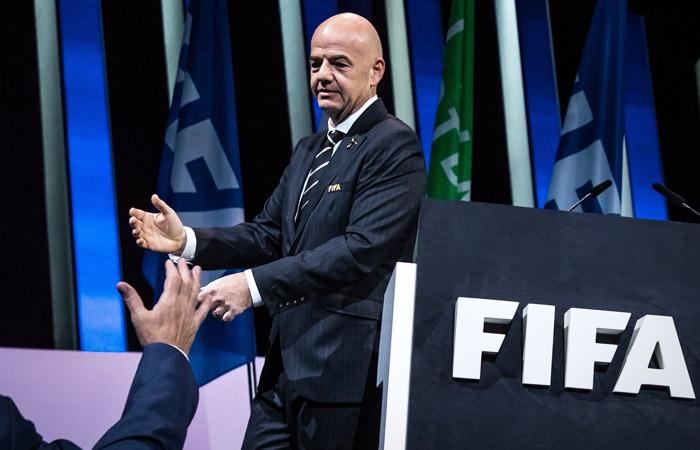 Инфантино переизбран президентом ФИФА