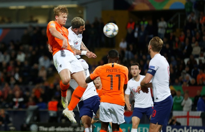 Гол Промеса помог сборной Нидерландов выйти вфинал Лиги наций пофутболу
