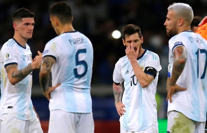 Сборная Аргентины стала аутсайдером на Кубке Америки по футболу