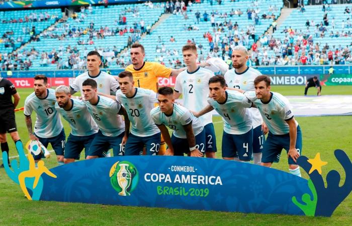Аргентина впервые победила на Кубке Америки-2019 и вышла в плей-офф