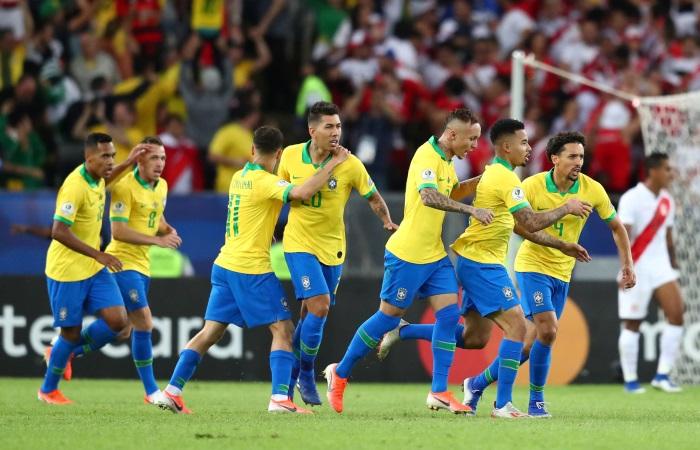 Бразилия выиграла Кубок Америки по футболу