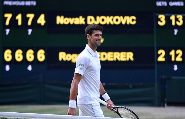 """Джокович победил Федерера и в пятый раз выиграл """"Уимблдон"""""""