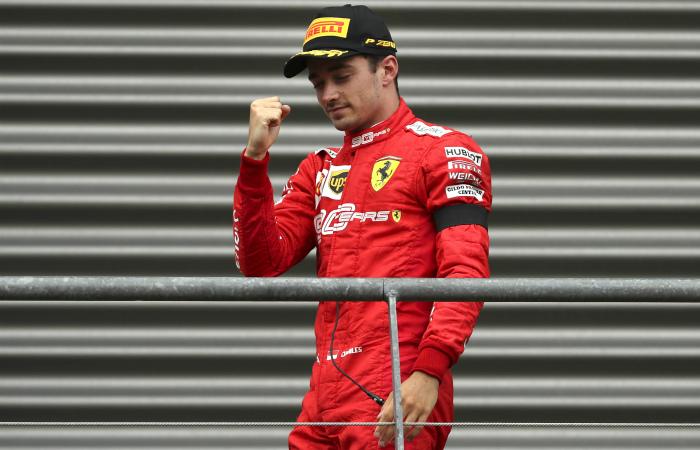 Шарль Леклер из Ferrari выиграл Гран-при Бельгии'Формулы-1