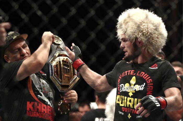 Нурмагомедов победил Порье и защитил титул чемпиона UFC