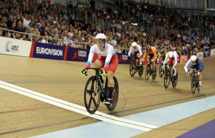 Россиянка Войнова стала 10-кратной чемпионкой Европы по велотреку