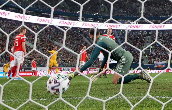 Сборная России крупно уступила Бельгии в матче отбора на Евро-2020