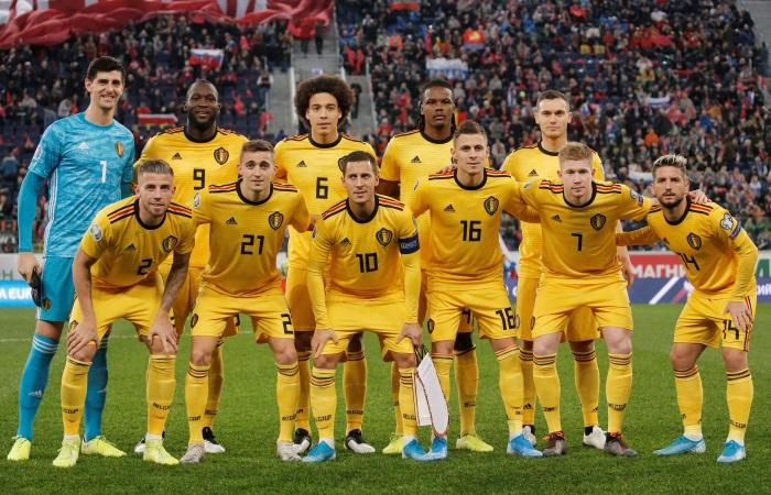 Бельгия попала в одну группу с Россией на Евро-2020