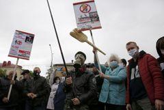 В Белоруссии прошли пикеты за выдвижение кандидатов в президенты