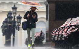 Более 140% месячной нормы осадков выпало в Москве за двое суток
