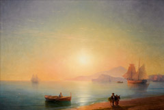 """""""Неаполитанский залив"""" Айвазовского продан на торгах Sotheby's вдвое дороже эстимейта"""