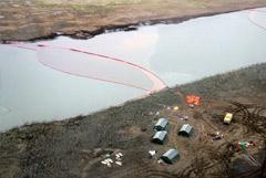 Спасатели собрали 100 тонн нефтепродуктов и грунта после аварии на ТЭЦ в Норильске