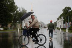 Почти половина месячной нормы осадков выпала в Москве за сутки