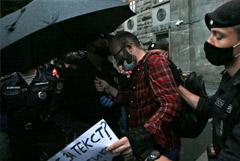 Журналисту Азару снова грозит до 30 суток ареста за одиночный пикет