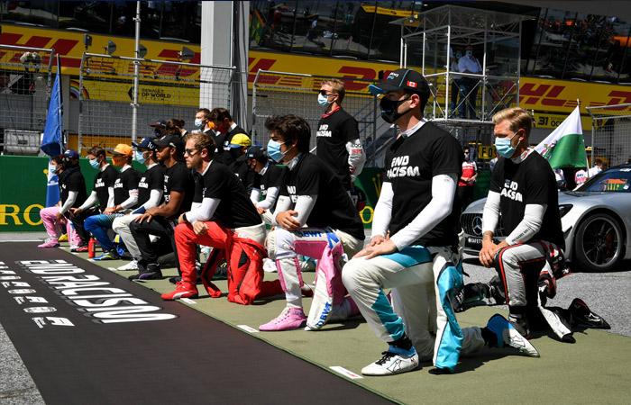 Отказ встать на колено перед гонкой F1 Квят объяснил русским менталитетом