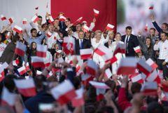 Данные экзит-поллов показали победу Дуды во втором туре выборов президента Польши