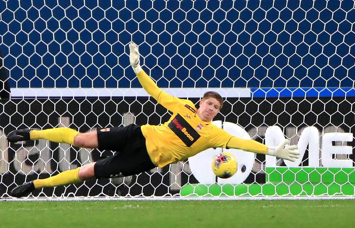 Лучшим вратарем чемпионата России по футболу признан Беленов