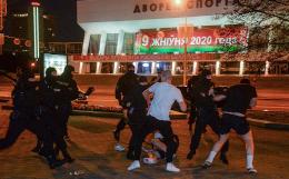 МВД Белоруссии сообщило об одном погибшем на протестах в Минске