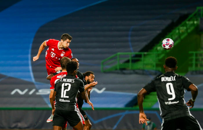 """""""Бавария"""" стала вторым финалистом Лиги чемпионов УЕФА"""