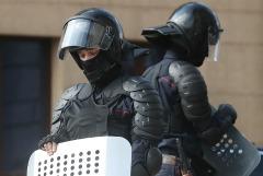 Милиция Бреста использовала светошумовой патрон на митинге оппозиции