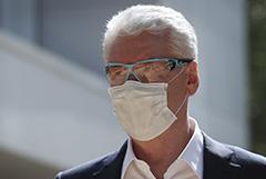 Собянин заявил о серьезном росте числа госпитализаций с COVID-19