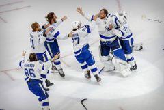 """""""Тампа-Бэй"""" во второй раз в истории выиграла Кубок Стэнли НХЛ"""