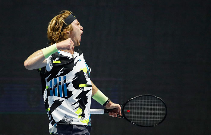 Андрей Рублев выиграл теннисный турнир в Санкт-Петербурге