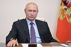 Путин заявил, что у властей нет планов вводить жесткий карантин в РФ