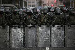 Несколько человек пострадали от светошумовых гранат в Минске