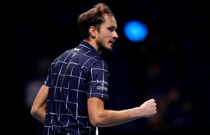 Российский теннисист Медведев впервые выиграл Итоговый турнир ATP