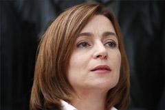 Майя Санду проведет первые встречи с президентами Румынии и Украины