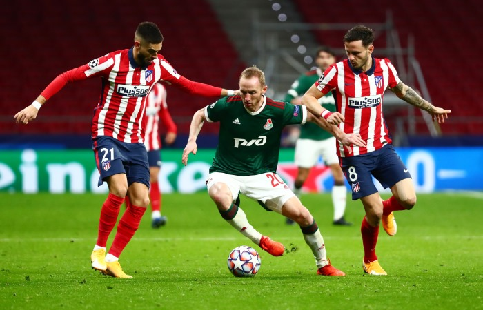 Российские клубы до 16 матчей продлили серию без побед в ЛЧ и ЛЕ