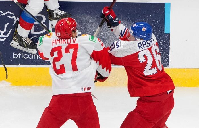 Россия проиграла Чехии на молодежном ЧМ по хоккею