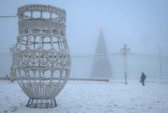 Самая низкая температура в Якутии зафиксирована на отметке -58