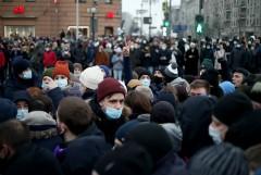Власти Москвы сообщили о 19 COVID-пациентах среди участников протестов